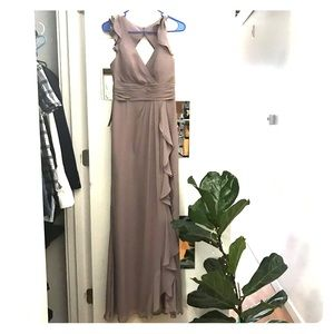 Azazie Tasha Dress in Dusk A6 NWT